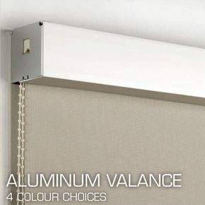 Blinds Of All Kinds - aluminum valance