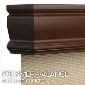 Blinds Of All Kinds - polymer valance